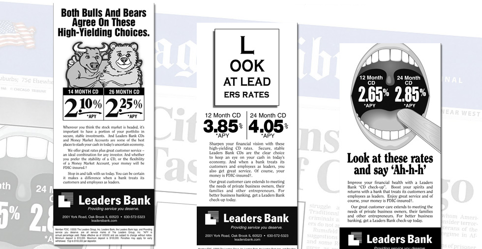 Newspaper Advertising Campaign