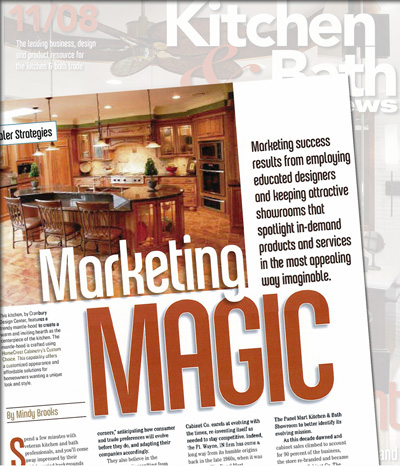 Kitchen & Bath Design News - Marketing Magic